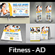 Fitness - GYM Advertising Bundle Vol.3 - GraphicRiver Item for Sale