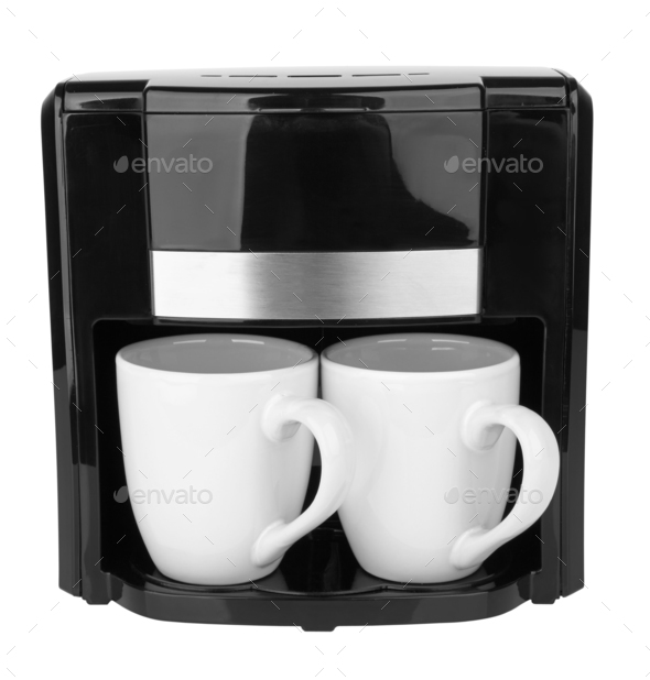 Coffee maker isolated - Stock Photo - Images