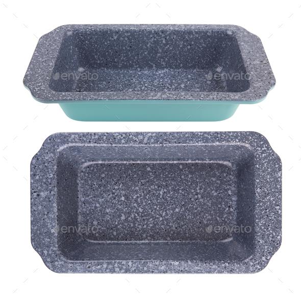 baking tray isolated - Stock Photo - Images