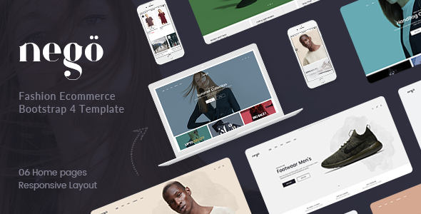 Image of Nego - Fashion Ecommerce Bootstrap 4 Template