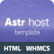ASTRHOST - WHMCS & HTML Responsive Domain & Web Hosting Template - ThemeForest Item for Sale