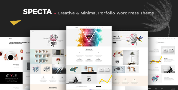 Image of Specta - Multipurpose Portfolio Theme