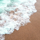 Ocean wave on sandy beach - PhotoDune Item for Sale