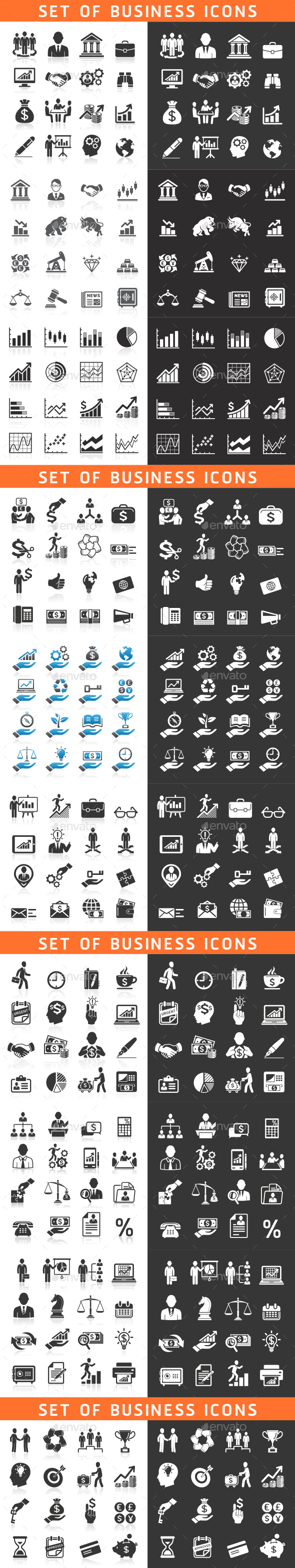 Business Icons Set - Icons