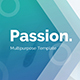 Passion Multipurpose Pitch Deck Google Slide Template - GraphicRiver Item for Sale