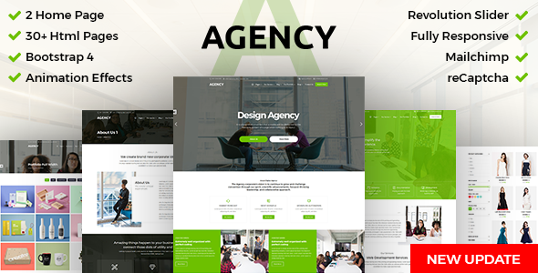 DZone-Agency : Creative Multipurpose Bootstrap 4 HTML Template