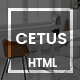 CETUS - Creative Portfolio HTML5 Template - ThemeForest Item for Sale