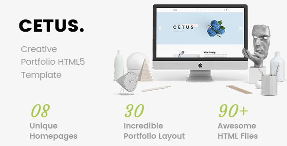Image of CETUS - Creative Portfolio HTML5 Template