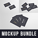 Business Cards Mockup Bundle 90x50