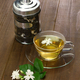 homemade jasmine tea and arabian jasmine flower - PhotoDune Item for Sale