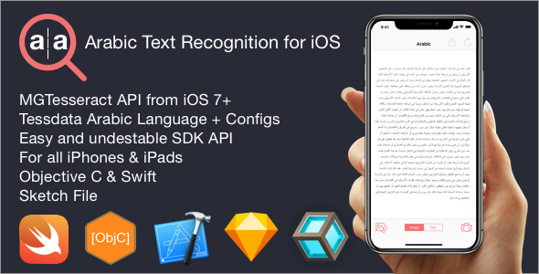 Arabic OCR Text Recognition Framework for iOS - CodeCanyon Item for Sale