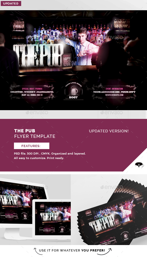 The Pub Flyer Template - Events Flyers