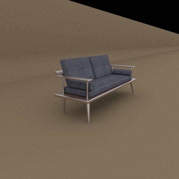 Sofa (Low Poly High Quailty)