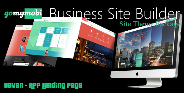 gomymobiBSB's Site Theme: Seven - App Landing Page            Nulled