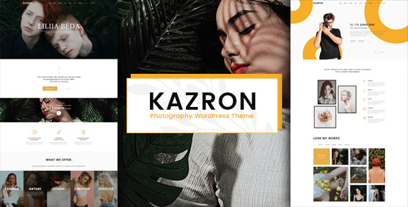 Image of Kazron - Photography WordPress Theme