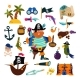 Pirate Vectors - GraphicRiver Item for Sale
