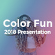 Color Fun 2018 Google Slides Templates - GraphicRiver Item for Sale