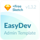 EasyDev — Developer Friendly React Redux Bootstrap 4 Admin Template + Seed Project - ThemeForest Item for Sale