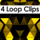 Ray Triangle VJ Loop Pack - VideoHive Item for Sale