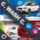 Car Wash Cover Bundle Templates - GraphicRiver Item for Sale