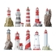 Lighthouse Vectors - GraphicRiver Item for Sale