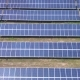 Aerial Industrial View Solar Panels - VideoHive Item for Sale
