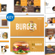 Burger - Keynote Business Presentation Templates - GraphicRiver Item for Sale