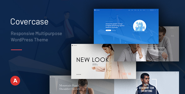 Image of Covercase — Responsive Multipurpose WordPress Theme