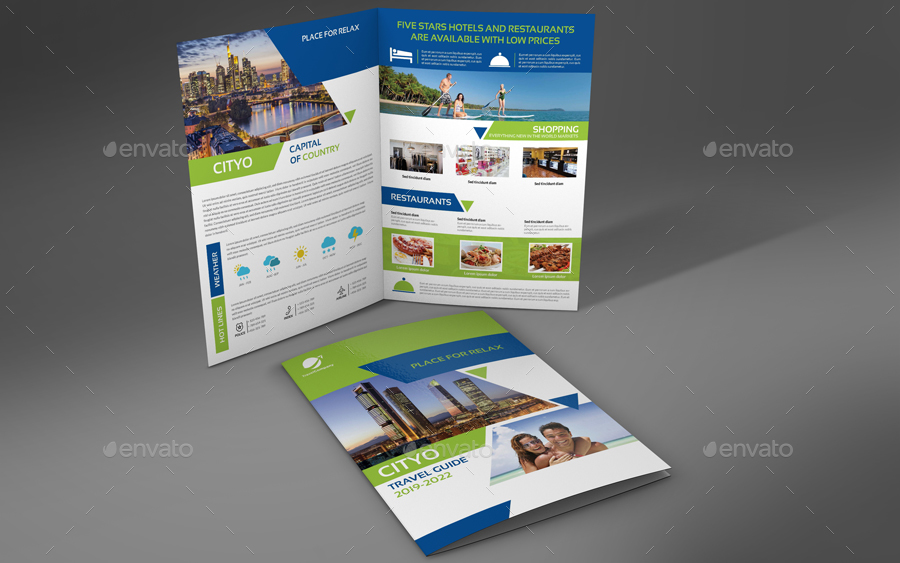travel guide brochure example