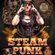 Steampunk Flyer Template