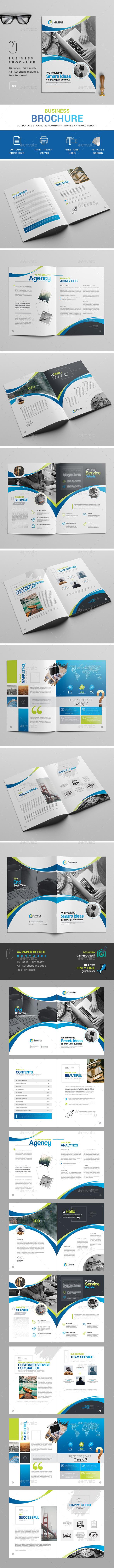 Brochure Template - Brochures Print Templates