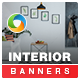 Interior Design HTML5 Banners - 7 Sizes - CodeCanyon Item for Sale
