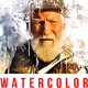 Watercolor Artist Photoshop-Graphicriver中文最全的素材分享平台