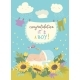 Card with Baby in Flowers - GraphicRiver Item for Sale