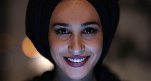 Muslim Woman Looking