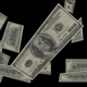 Falling Money 4K - VideoHive Item for Sale