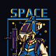 Space Troop T-shirt Design - GraphicRiver Item for Sale