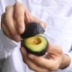 On Male Hands Holding Avocado With Engagement Ring Proposing To Woman - VideoHive Item for Sale