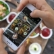Female Hands Taking Photo Of Food By Smartphone - VideoHive Item for Sale