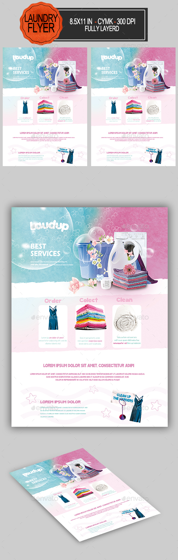 Laundry Flyer - Miscellaneous Events