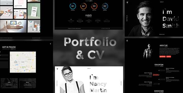 CV Portfolio - Portfolio HTML Template - Portfolio Creative