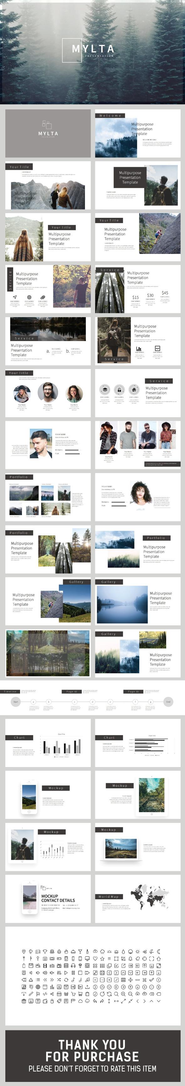 Mylta Google Slide Presentation - Google Slides Presentation Templates