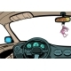 Car View From Inside the Cabin - GraphicRiver Item for Sale