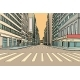 Pedestrian Crossing in the Big City - GraphicRiver Item for Sale