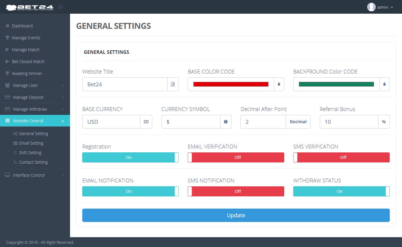 Sports betting platform download justin harris binary options