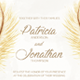 Feather Wedding Invitation Set - GraphicRiver Item for Sale
