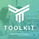 ToolKit Pitch Deck Powerpoint Template - GraphicRiver Item for Sale