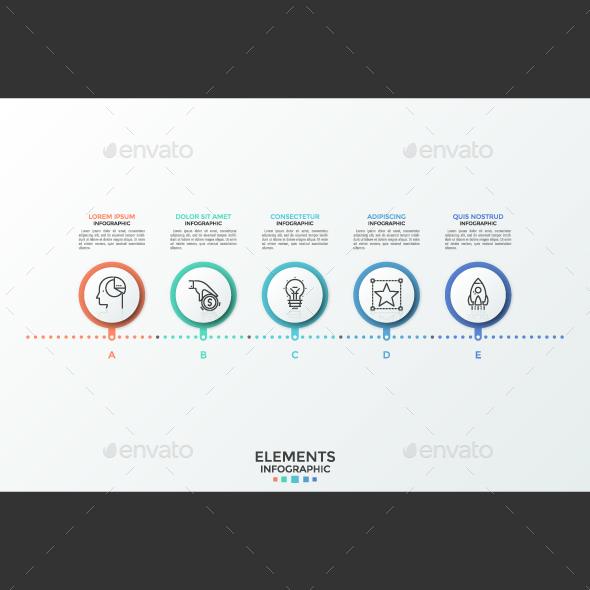 Circular Infographic Process Template - Infographics