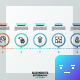 Circular Infographic Process Template - GraphicRiver Item for Sale