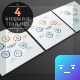 Modern Infographic Circular Template (4 Items) - GraphicRiver Item for Sale